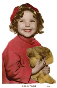 Shirley Temple, circa 1934